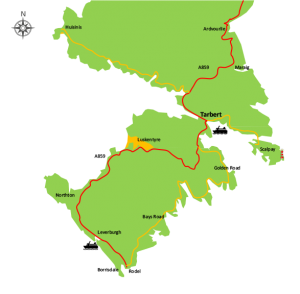 Map of Harris