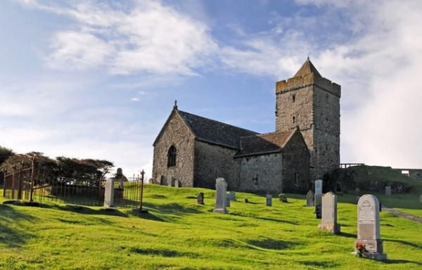 St Clement's Church, Rodel. The photo was taken by Stephen Branley.